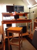 Standing desk (portrait)